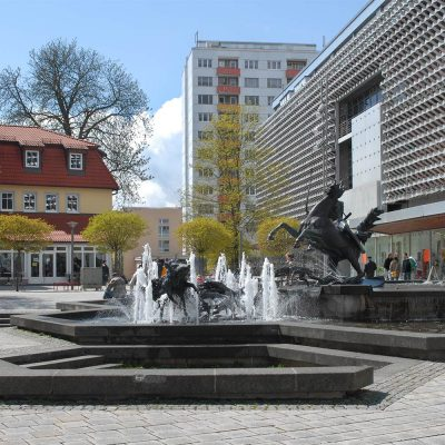 Dianabrunnen . Steinweg . Suhl (Foto: Manuela Hahnebach 2006)