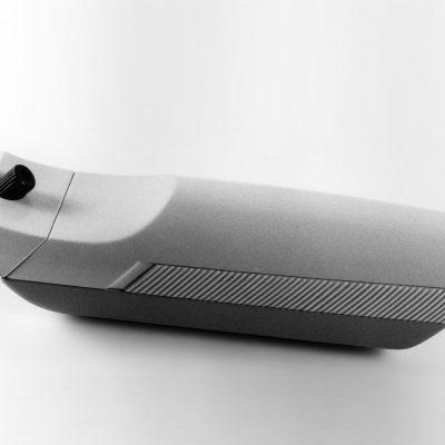 Haarschneidemaschine (Gipsmodell) . EGS (Produkt Design: Andreas Kuhrt 1987)