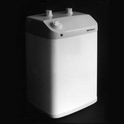 Heißwasserspeicher (Holzmodell) . EGS (Produkt Design: Andreas Kuhrt mit Manuela Hahnebach, 1988)