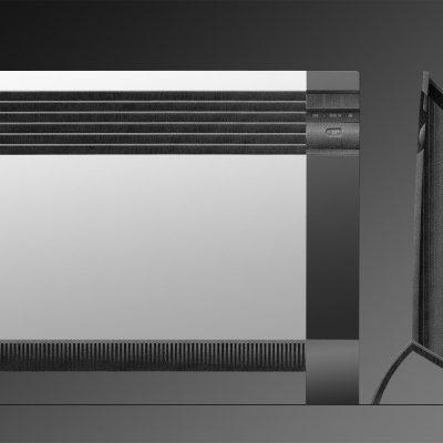 Elektroheizung (Grafik) . EGS (Produkt Design: Andreas Kuhrt 1993)