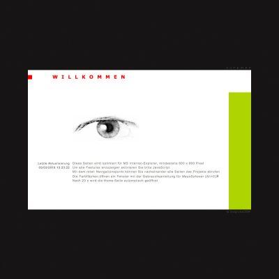Startseite (2006.04) . Fotoclub Kontrast Suhl . Website (Web Design: Designakut 2006)