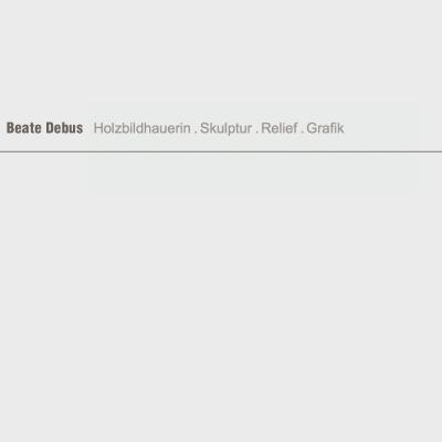 Startseite . Debus Skulptur (Beate Debus) . Website (Web Design: Designakut 2007)