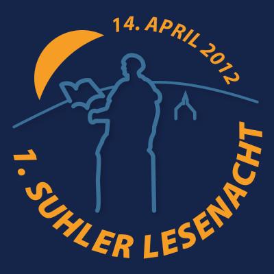 Logo zur 1. Suhler Lesenacht 2012