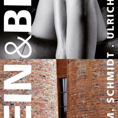 Fotoausstellung Stein & Bein (Flyer) . Musikschule Suhl . 2013 (Fotos: Uli Pfeufer, Peter Maximilian Schmidt, Gestaltung: Andreas Kuhrt)