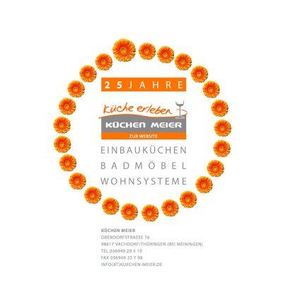Startseite . Küchen Meier Vachdorf . Website (Web Design: Designakut 2015)