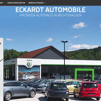 Website Eckardt Automobile 2016