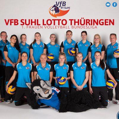 Website 1. Bundesliga VfB Suhl 2016-17