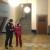 """Seminargruppentreffen 2019 im """"Haus des Volkes"""" Probstzella: im Foyer (Foto: Andreas Kuhrt)"""