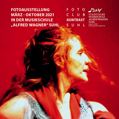 Fotoausstellung Musikschule Suhl 2021: Lebensmomente - Fotografie Dr. Karl-Heinz Richter (Flyer)