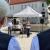 Foto Openair Suhl 2021: Helden des Alltags . Ausstellungseröffnung . Fotografenmeisterin Christiane Neupert (Mitte)(Foto: Andreas Kuhrt)