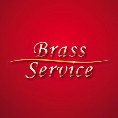 Brass Service Schriftzug (Grafikdesign: Andreas Kuhrt 2012)