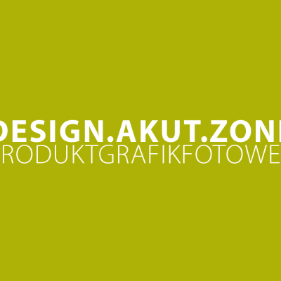 design.akut.zone: Produkt Grafik Foto Web Design